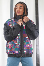 Load image into Gallery viewer, Vintage 80's Printed Windbreaker / Shell Jacket. Festival / Ski. XL