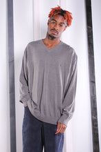 Load image into Gallery viewer, Vintage 90s Grey Tommy Hilfiger Jumper/ Sweater. XL