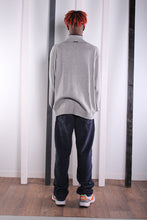Load image into Gallery viewer, Vintage 90s Grey 1/4 Zip Nautica Jumper / Sweater. LARGE.