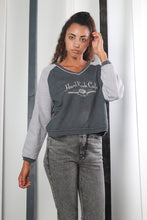 Load image into Gallery viewer, Vintage 90s RARE Hard Rock Cafe Spell-out Sweatshirt / Sweater. MEDIUM