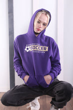 Load image into Gallery viewer, Vintage 90s Varsity USA Hoodie / Hooded Sweater / Sweatshirt. MEDIUM.