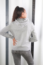 Load image into Gallery viewer, Vintage 90s Grey Nike Hoodie / Hooded Sweater / Sweatshirt. MEDIUM