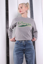 Load image into Gallery viewer, Vintage 90s USA Varsity University Sweatshirt / Sweater. SMALL.