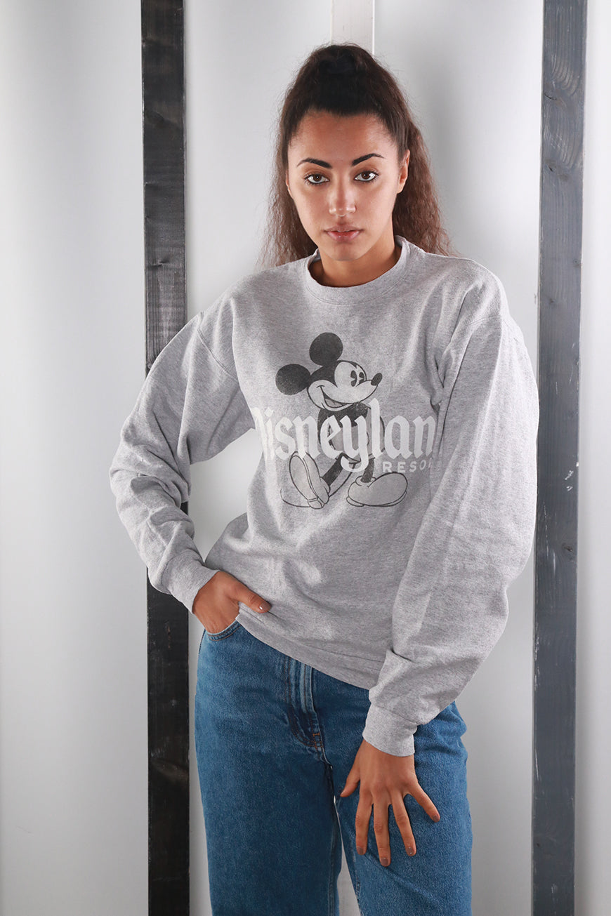 Vintage 90s Disney Mickey Mouse Sweatshirt / Sweater. SMALL