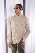 Load image into Gallery viewer, Vintage 90's Beige Cord / Corduroy Shirt. Unisex. LARGE.