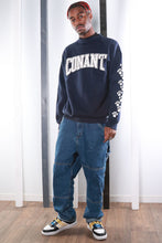 Load image into Gallery viewer, Vintage 90s USA Varsity University Print Sweatshirt / Sweater. LARGE.