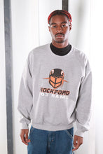 Load image into Gallery viewer, Vintage 90s USA Varsity University Print Sweatshirt / Sweater. LARGE