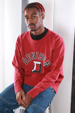 Load image into Gallery viewer, Vintage 90s USA Varsity University Print Sweatshirt / Sweater. SMALL