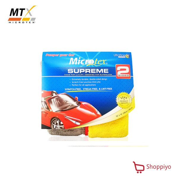 Microtex Supreme Microfiber Cloth Double Side