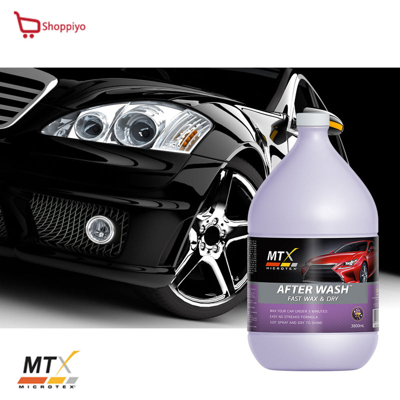 Microtex Car Care Carnauba Car Wax After Wash 3800ml MA-AW3800
