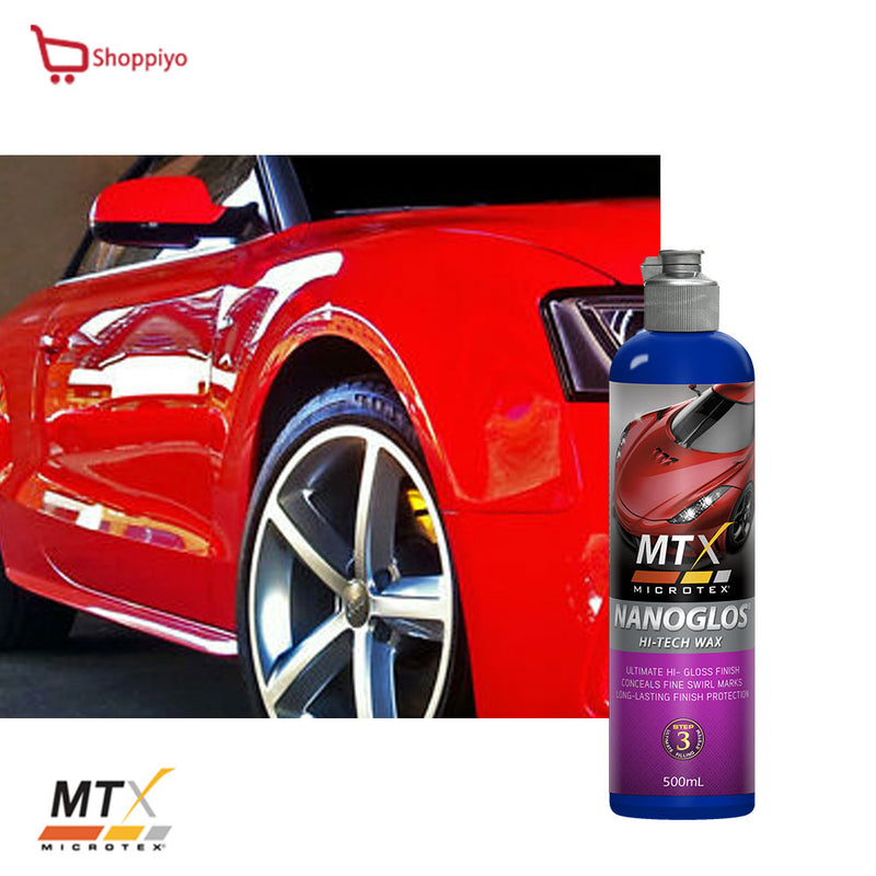 Microtex Car Wax and Protection NanoGLOS 500ml CARNAUBA WAX MA-NG500