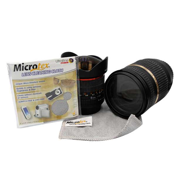 Microtex Microfiber Ultra Glass and Lens Cleaner