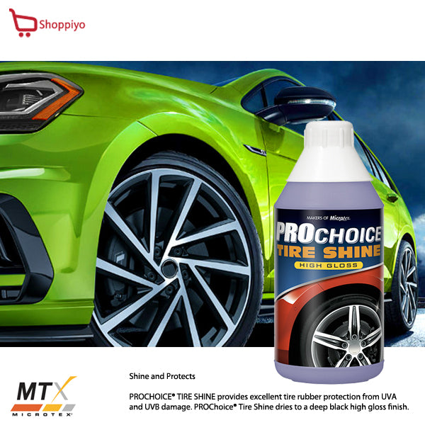 Microtex Car Care Prochoice Tire Shine Polish and Protectant 1L