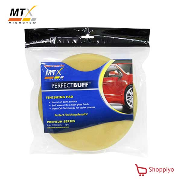 Microtex (MTX) Buffing Pad Premium Finishing Pad Beige 8 inches (MA-FP8PM)
