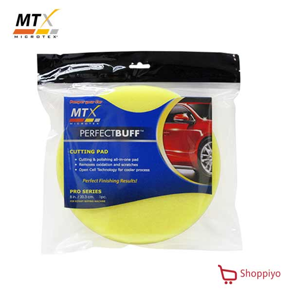 Microtex MA-CP6 Pro Cutting Pad 6 inch (Yellow)