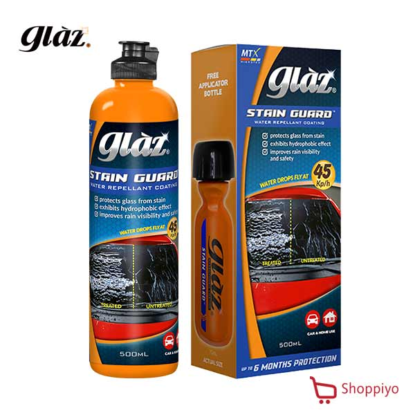 Microtex Glaz Water Repellant Coating Stain Guard 500ml (GZ-SG500)