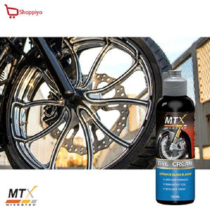 Microtex MTX Motorcycle Bike Tire Cream 125ml MB-T125