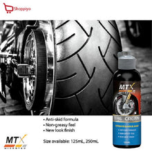 Load image into Gallery viewer, Microtex MTX Motorcycle Bike Tire Cream 125ml MB-T125