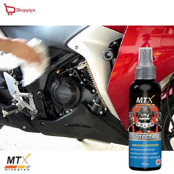 Microtex Motorcycle Bike Rain or Shine Protectant 125ml MB-P125