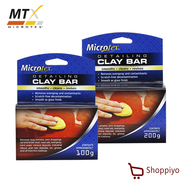 Microtex Clay Bar Car body cleaning decontamination 200g