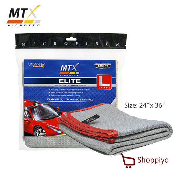 Microtex (MTX) Microfiber Drying Cloth Elite Towel Large (MX-001)