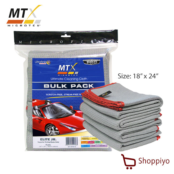 Microtex Drying Cloth Elite Junior Bulk 6 pcs (MX-6P001S)