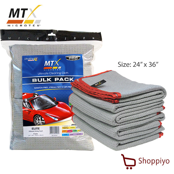 Microtex ULtimate Drying towel Elite Set of 6 (MX-6P001)
