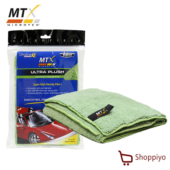 Microtex MA-005 Ultra Plush Microfiber Cloth Super High Pile