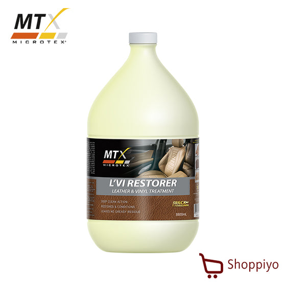 Microtex L'VI Restorer Car Interior Leather Care 1 Galon