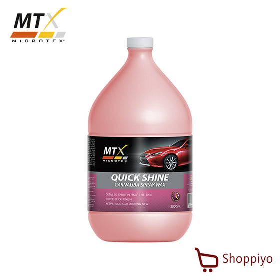Microtex MA-QS3800 Quick Shine 3800ml - Carnauba Spray