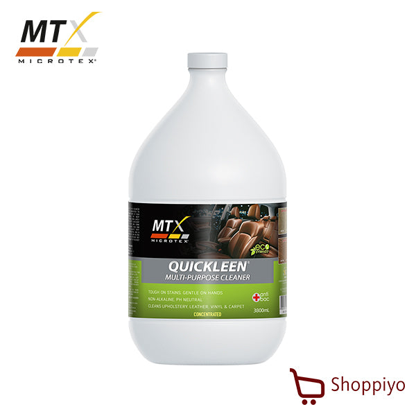 Microtex Quickleen Interior Car Care Cleaner Concentrated 1 Galon