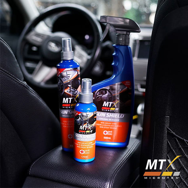 Microtex Sunshield protectant car interior cleaner 1 Galon