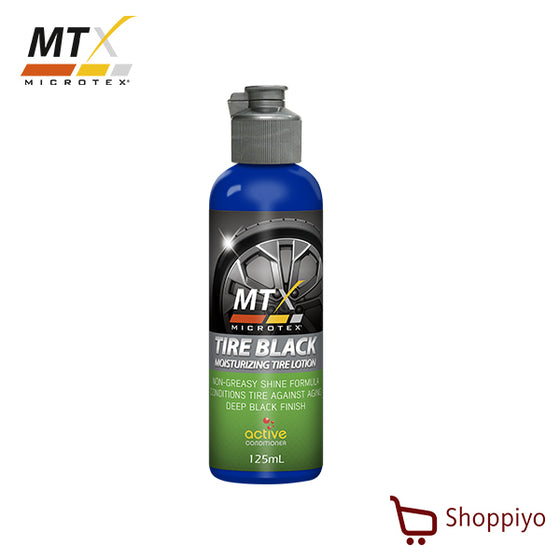 Microtex Tire Black, Protection, Shine, Conditioner, Moisturizer 125 ml