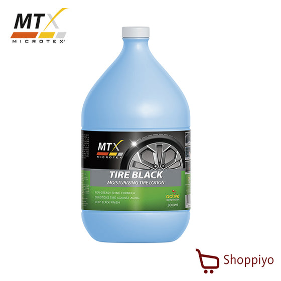Microtex MA-T3800 Tire Black tire shine lotion Detailing Solutions 1 Galon