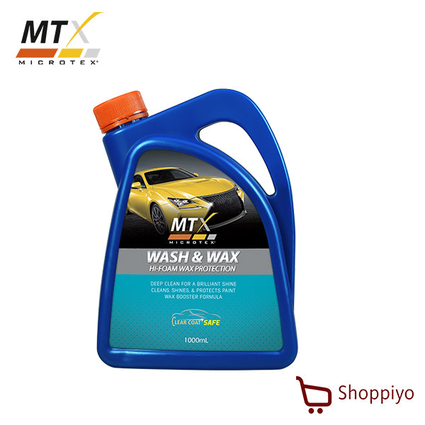 Microtex (MTX) Car Shampoo Wash & Wax 1L MA-SW101