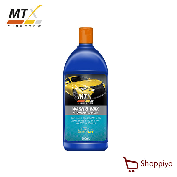Microtex Car Wash Shampoo Wash & Wax 500 ml