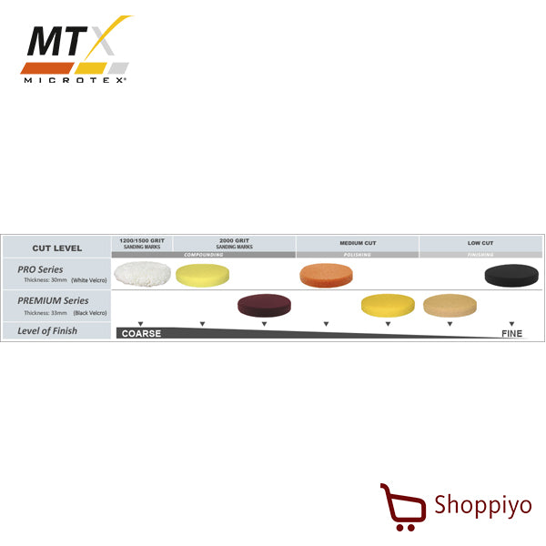 Microtex MA-PP6PM Polishing Pad 6 (Yellow)
