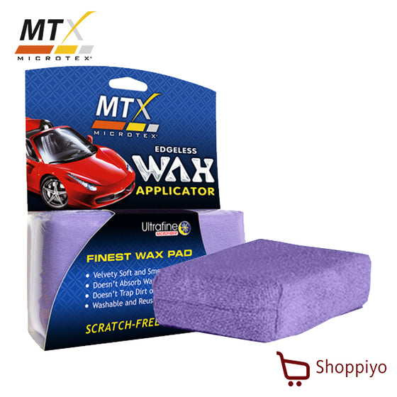 Microtex Wax Applicator Suede