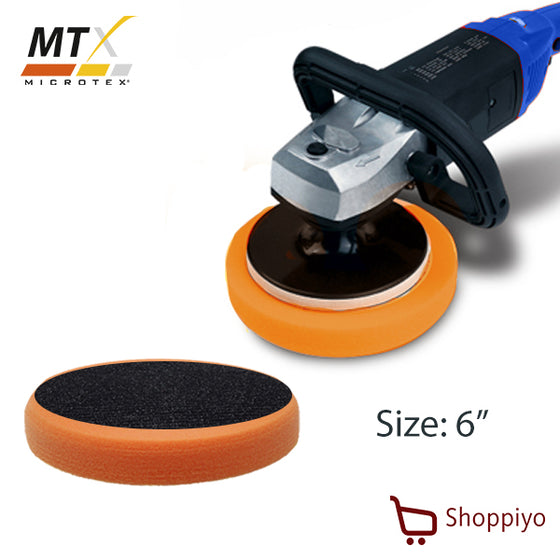 Microtex MA-PP6 Polishing Pad 6 inch (Orange)