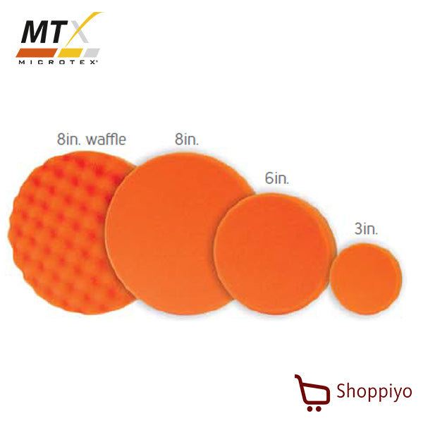 Microtex MA-PP8 Polishing Pad 8 inch (Orange)