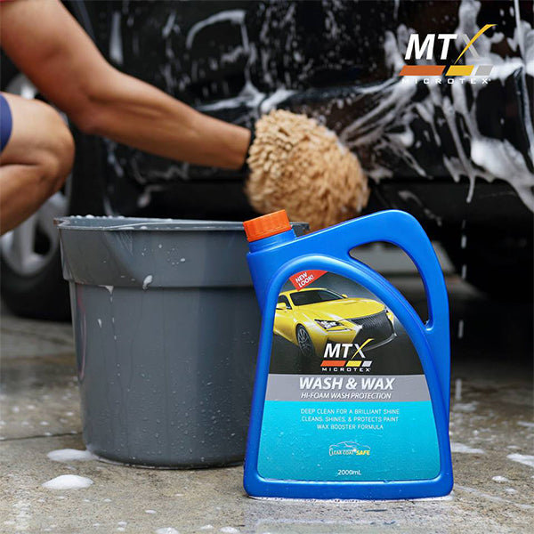 Microtex Car Wash and Wax Gloss 2L