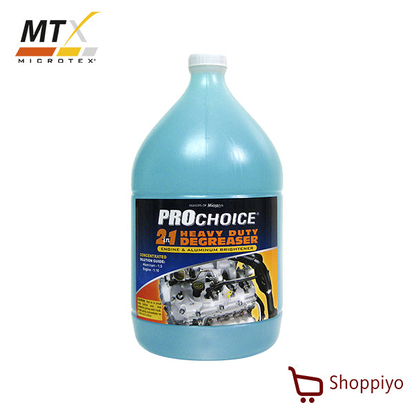 Microtex Prochoice Degreaser & Aluminum Brightener 4L (Prochoice Series)