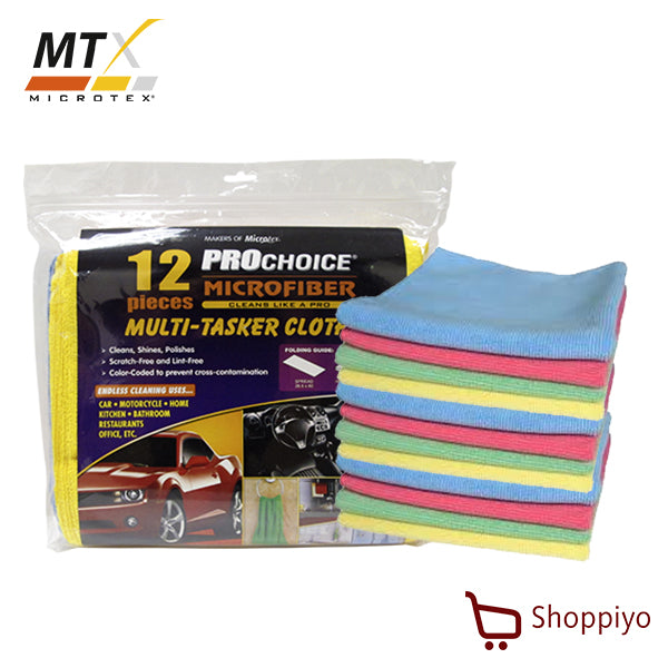 Microtex PC-MF12R Prochoice Multi- Tasker Cloth 12 pieces (Prochoice Series)