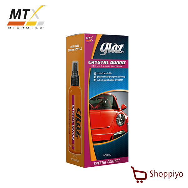 Microtex GZ-CG500 Glaz Crystal Guard 500ml Car Headlamp Coating protectant Glaz Series