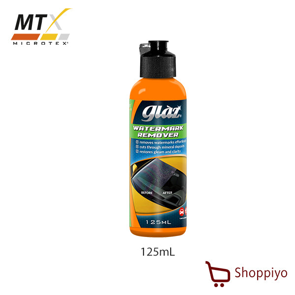 Microtex (MTX) Glaz Water Mark Remover 125ml (GZ-WR125)