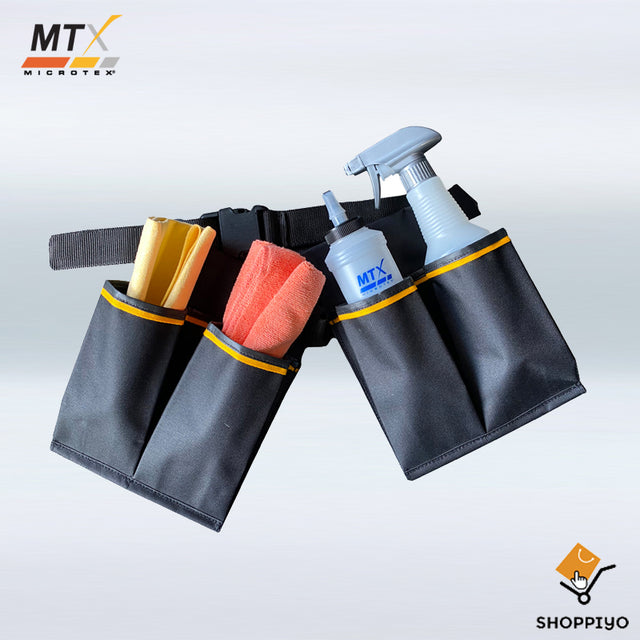 Microtex Car Care All Purpose Detailing Belt Bag MA-DT002