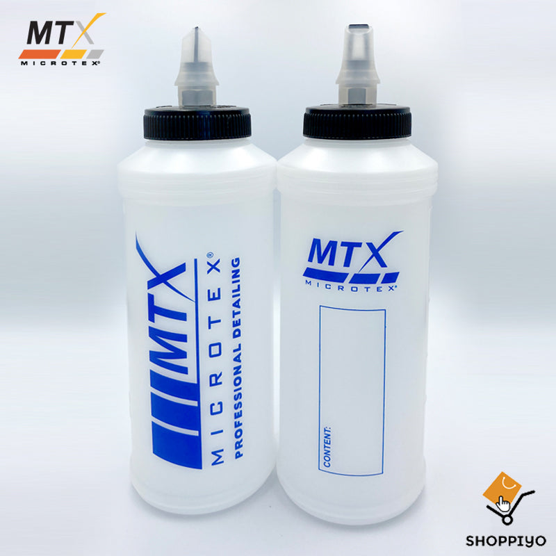 Microtex Car Care Dispenser with Pull up Cup Bottle 350mL MA-BD350