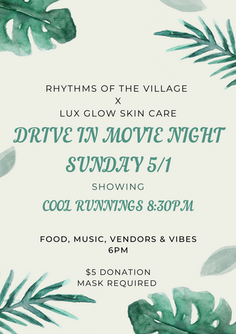 Village Drive-In Movie Night with Lux Glow Pop-Up