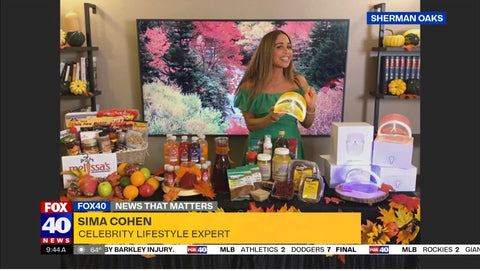 Feel Good Products with Fox 40 News and Sima Cohen