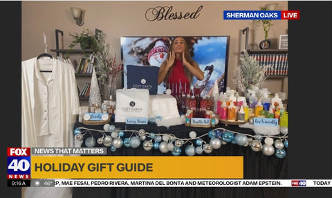 Lifestyle host Sima Cohen shares the many beauty benefits of Lux Glow Skin Care's organic product line with Fox 40 News in the Bay Area
